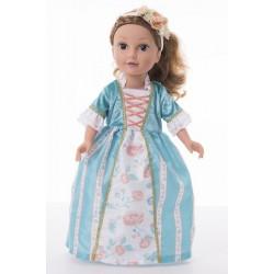 Little Adventure Princess Ava Doll Dress with Headband