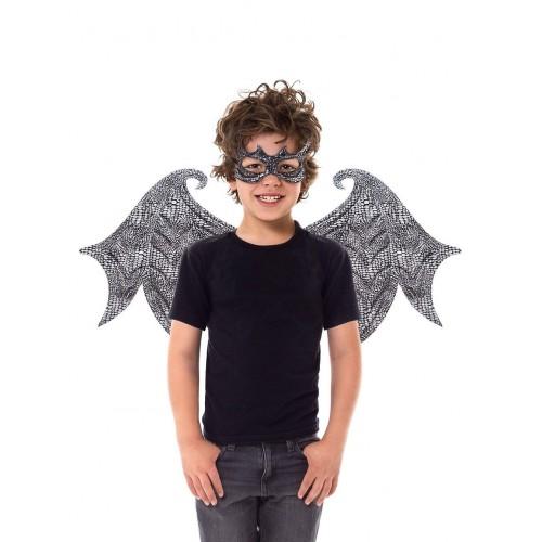 Little Adventure Black Dragon Wing & Mask Set