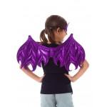 Little Adventure Pink/Purple Dragon Wings & Mask Set