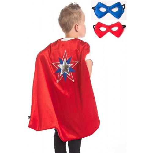 Little Adventure American Hero Cape & Mask Set