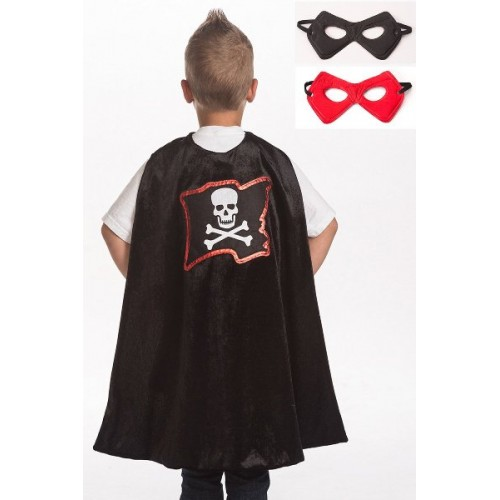 Little Adventure Pirate Cape & Mask Set