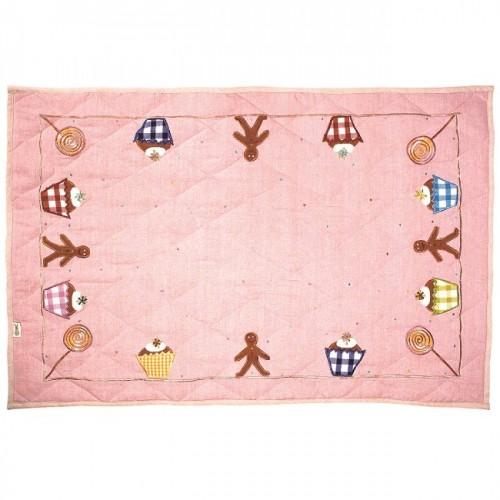 Gingerbread Floor Quilt